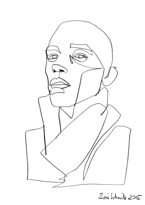 500x707 Borisschmitz One Continuous Line Drawing By Boris