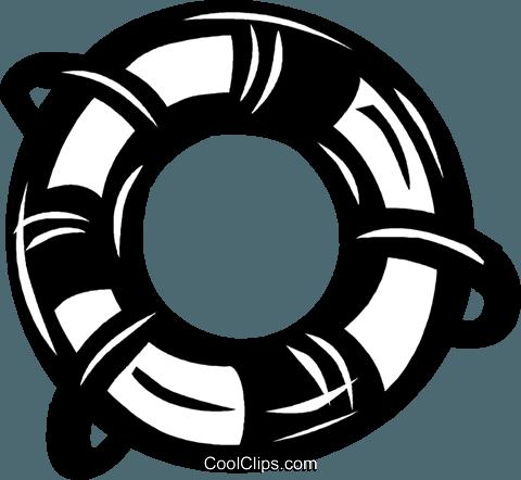 480x442 Life Ring Royalty Free Vector Clip Art Illustration Vc040512