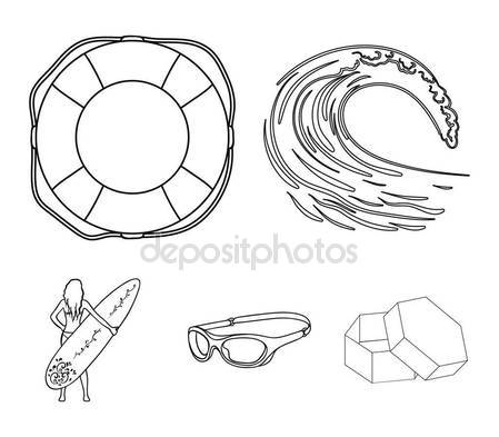 449x393 Life Ring Outline Icon Stock Vectors, Royalty Free Life Ring