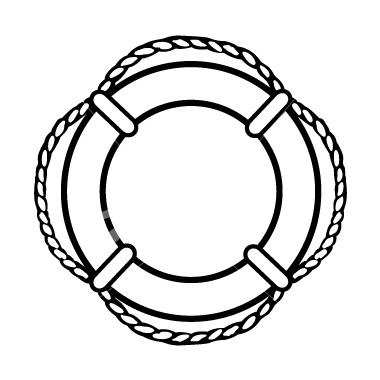 380x380 Lifesaver Ring Nautical Clipart Classroom Decorations