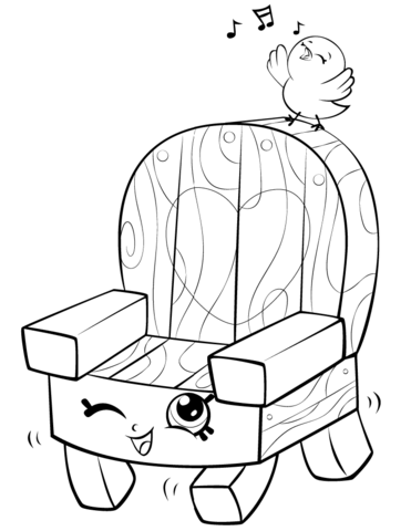 371x480 Chairs Coloring Pages