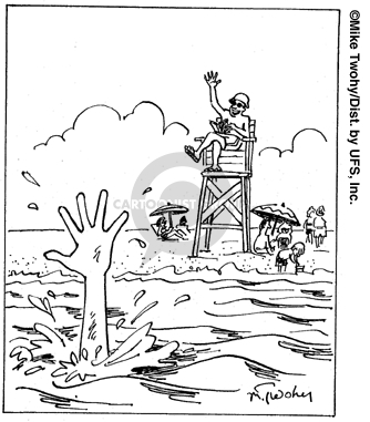 334x381 The Lifeguard Comic Strips The Comic Strips