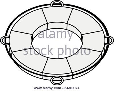 399x320 Lifesaver Boat Symbol Stock Vector Art Amp Illustration, Vector