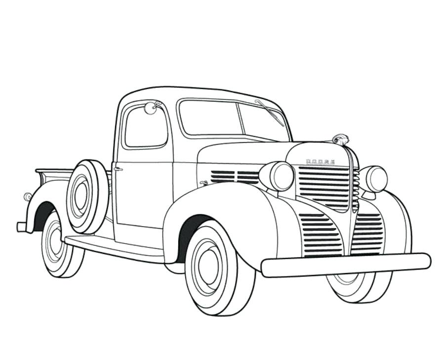 905x719 Ford Coloring Pages Pickup Truck Coloring Pages Lifted Ford Truck