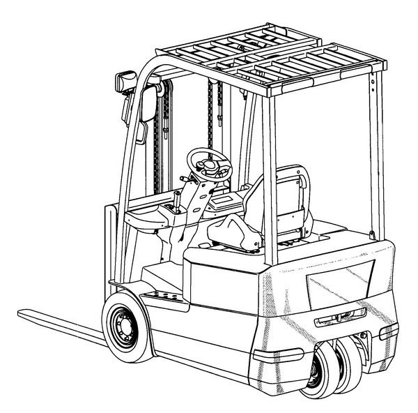 600x592 Lift Coloring Pages
