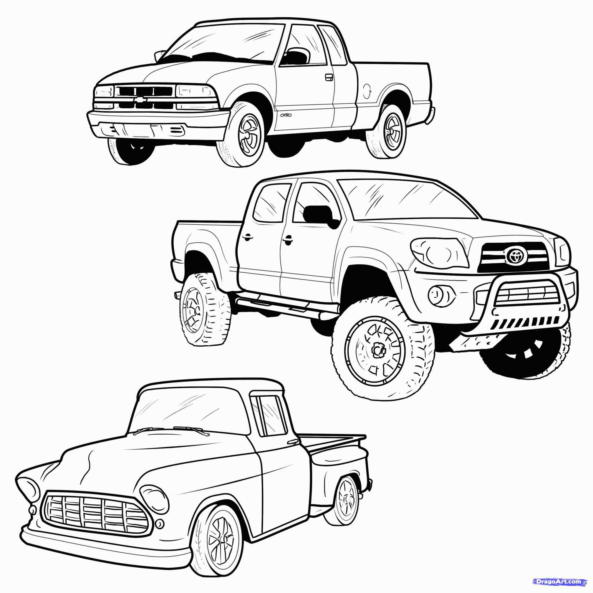 2014x2014 Lifted Chevy Truck Coloring Pages Web Coloring Pages