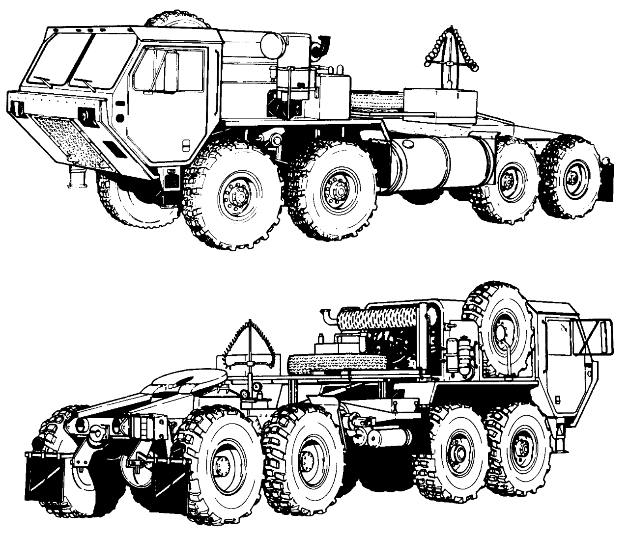 1280x1090 M977 Heavy Expanded Mobility Tactical Truck (Hemtt)