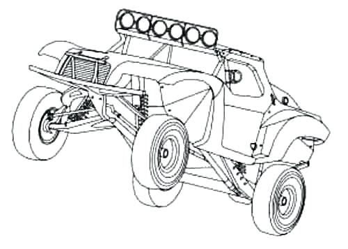500x357 Off Road Truck Coloring Pages Lifted Truck Coloring Pages