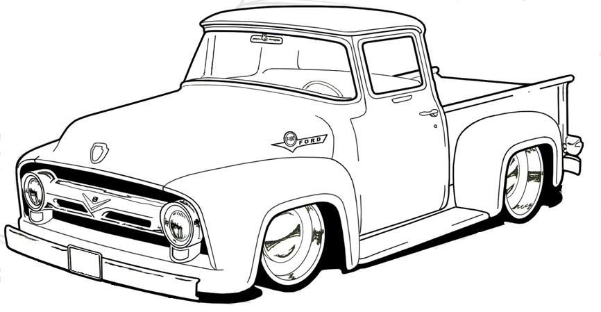 lifted truck drawing at getdrawings com free for 57 chevy clipart 57 chevy clipart free