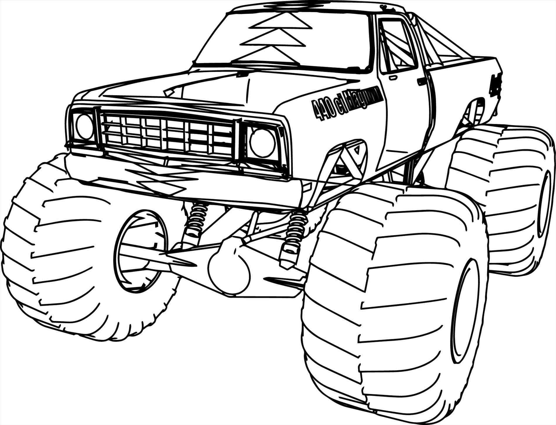 Lifted Truck Drawing at GetDrawings   Free download