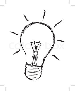 264x320 Flat Design Energy Saving Lightbulb Icon Vector Illustration