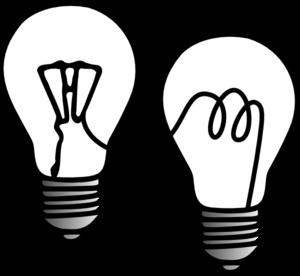 300x276 Light Bulbs Clip Art