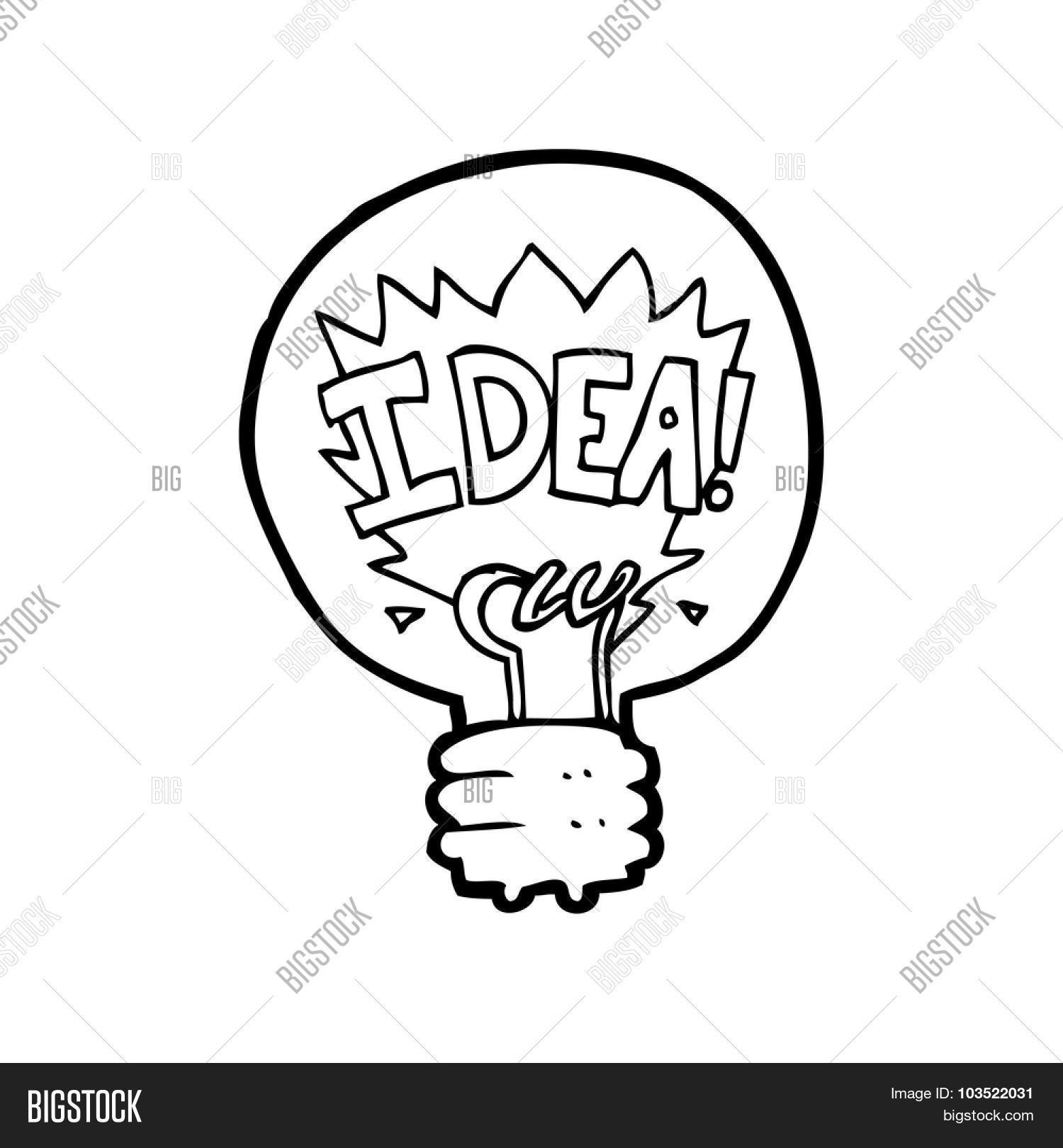 Light Bulb Line Drawing at GetDrawings.com | Free for personal use ...