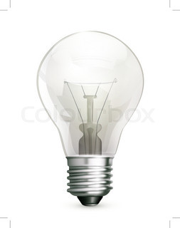 253x320 Light Bulb With Elements Of Infographics And Graph Vector