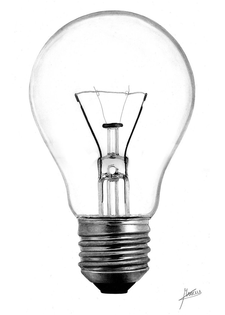 755x1057 Lightbulb By Marcuspeyre