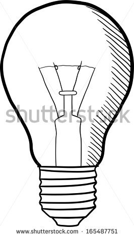 266x470 Sketch Clipart Light Bulb