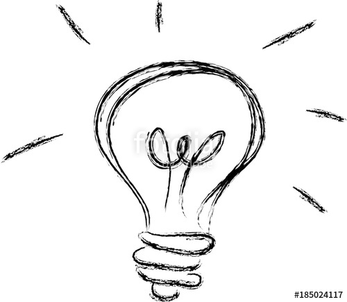500x435 Idea Inspiration Innovation Sign Symbol Hand Drawing Vector