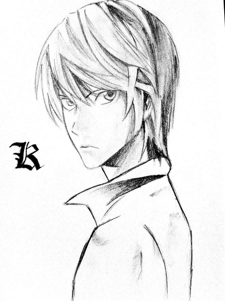 900x1205 Death Note Kiralight By Otakukuro