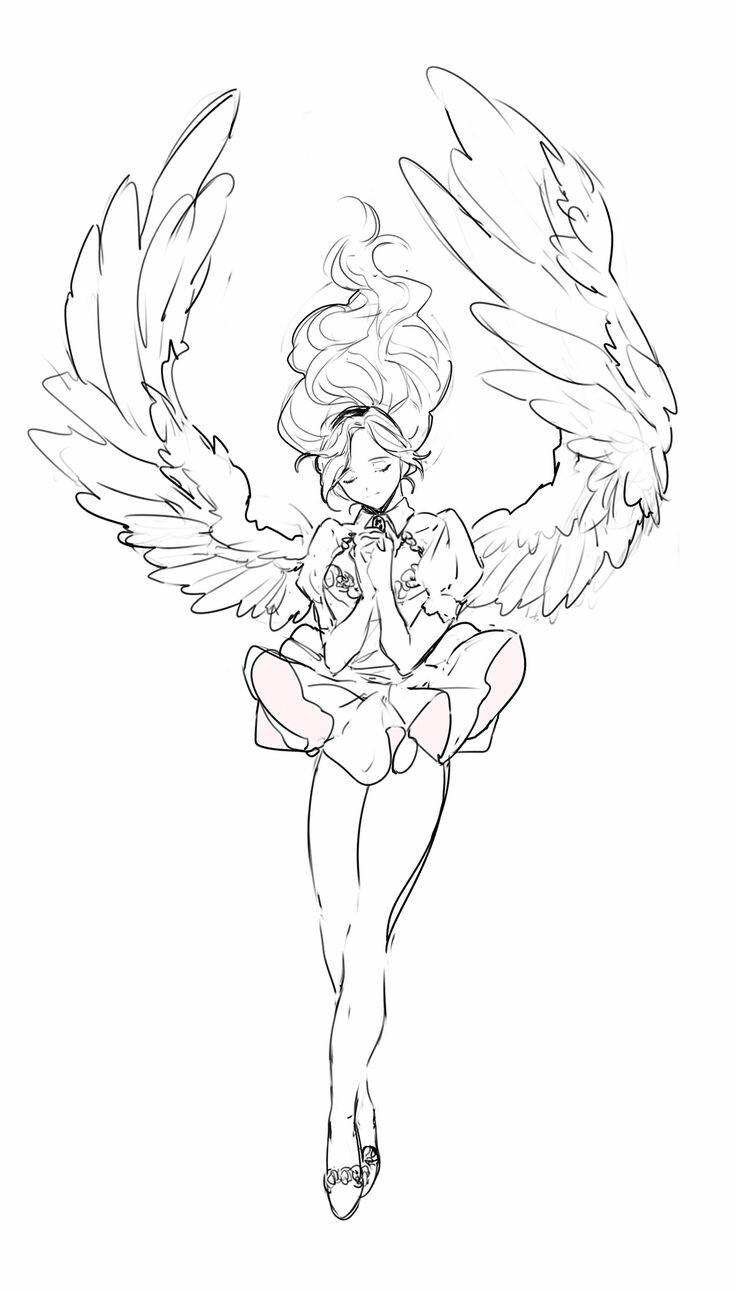 736x1291 Images For Anime Art Anime Art Heavenly, Anime