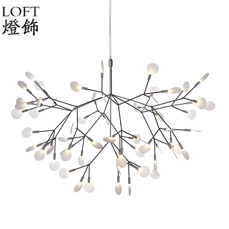 750x750 Heracleum Ii Small Pendant Lights Tree Leaf Vintage Led Lamps