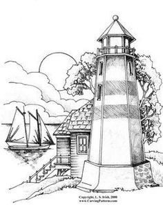 236x299 Image Result For Traceable Wood Burning Lighthouse Templates