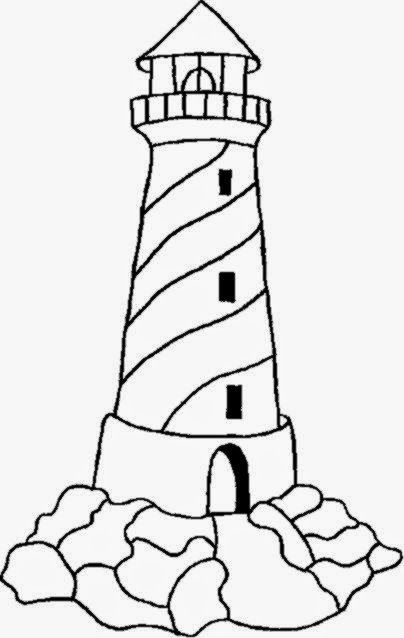 404x638 Lighthouse Coloring Sheets Free Coloring Sheet Quilled Ideas