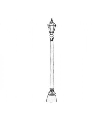 433x500 Tudor Style Lamp Post