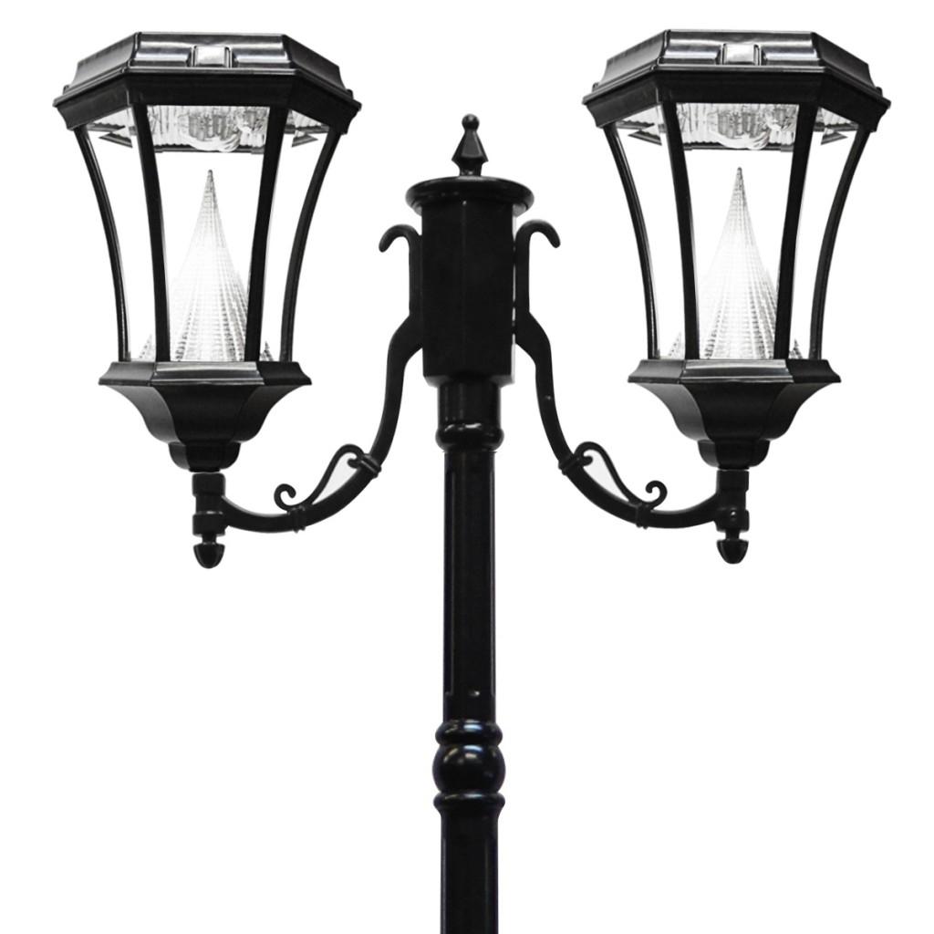 light inch black fitter b amazon dp led gs outdoor for lighting finish garden post solar lamp lights fixture com sonic gama royal mount