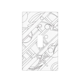 324x324 Ink Drawing Light Switch Covers Zazzle