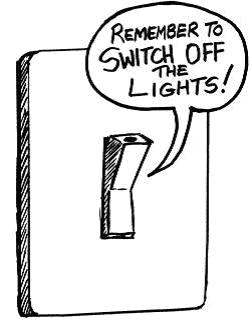 light switch drawing at getdrawings com