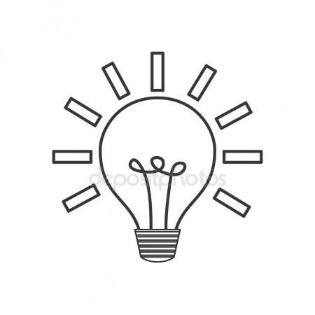 450x450 Hand Drawing Light Bulb Stock Photo Halina Photo