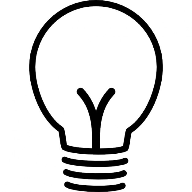 626x626 Lightbulb Outline Vectors, Photos And Psd Files Free Download