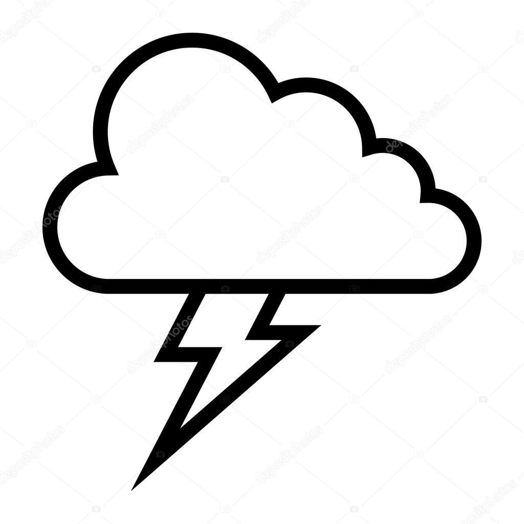 1024x1024 Lightning Bolt Vector Icon Stock Vector Briangoff