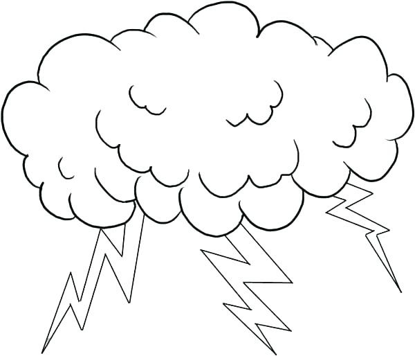 600x514 Lightning Bolt Coloring Page Lightning Bolt Angry Cloud