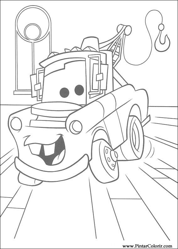 567x794 Drawings To Paint Amp Colour Lightning Mcqueen