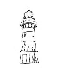 219x284 Printable Lighthouse Drawings