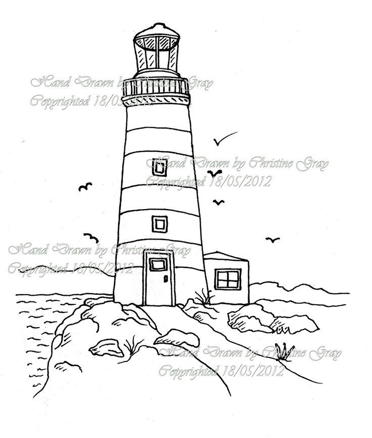 736x865 Simple Lighthouse Drawings Related Keywords Amp Suggestions