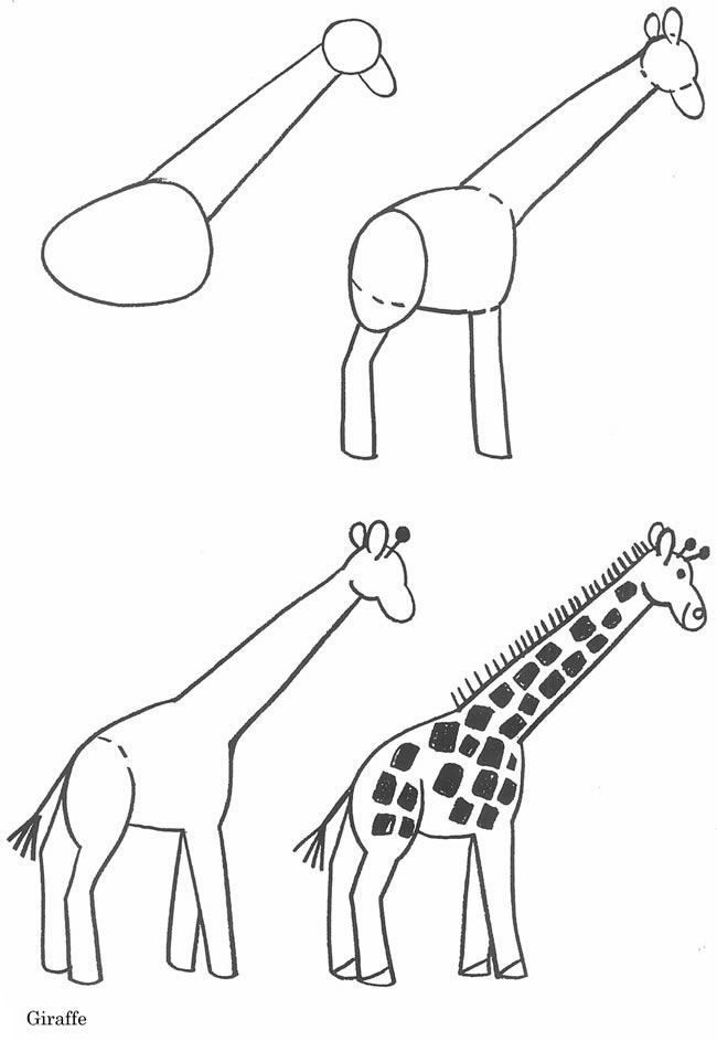 650x943 Jirafa Como Hacer Dibujos Drawing Ideas, Doodles