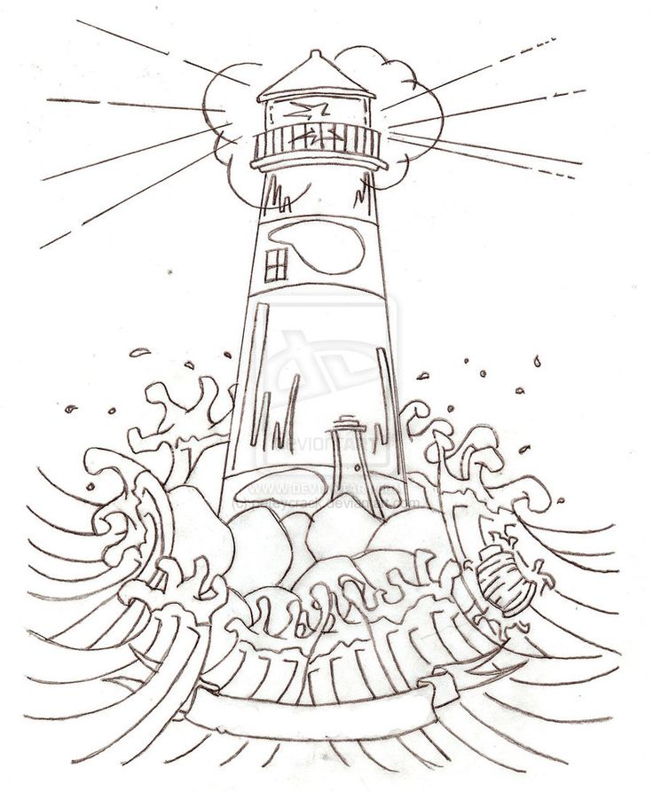 Lighthouse Tattoo Drawing at GetDrawings.com | Free for personal use on white house portraits, white house drawings, white house paintings, white house symbols,
