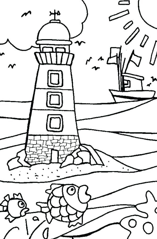 600x909 Lighthouse Best Lighthouses Images On Drawings