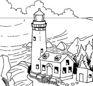 300x279 70 Best Lighthouse Coloring Pages Images On Light