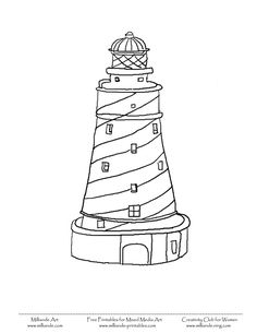 236x305 Template Coloring Pages Lighthouse Keepers Lunch
