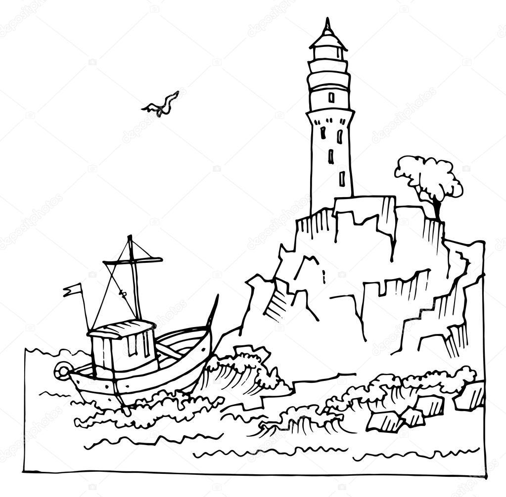 1023x1006 Drawn Cliff