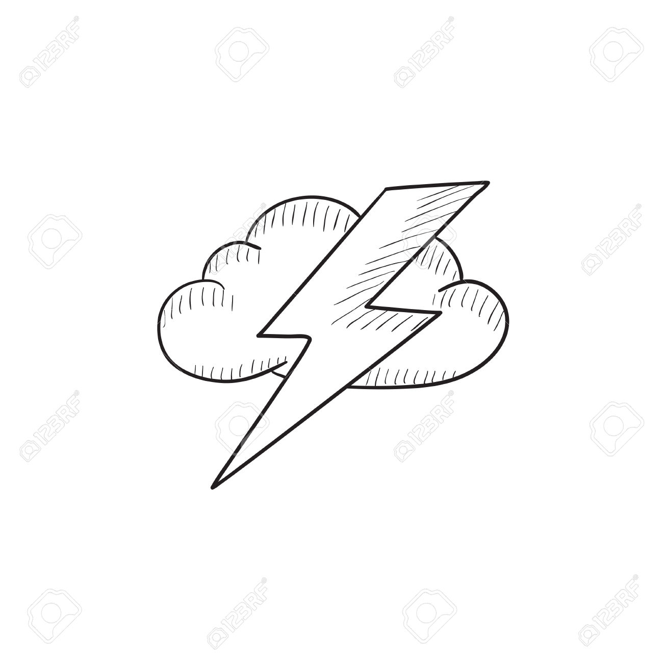 1300x1300 Drawing A Lightning Bolt
