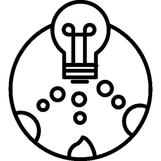 512x512 Light Bulbs, Technology, Illumination, Lightning Bolt Icon
