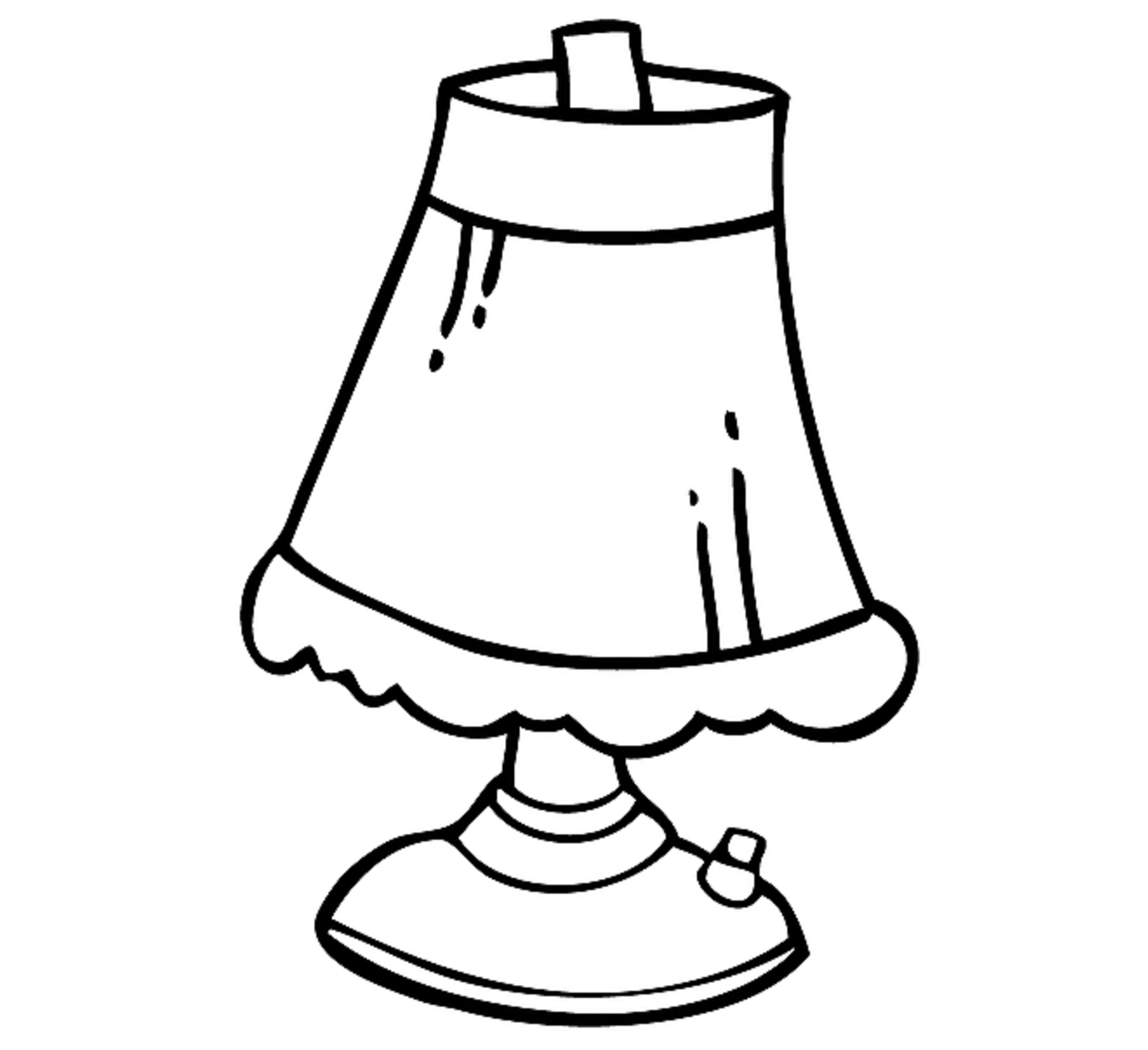 1321x1208 Drawing Of A Lamp Drawing Of A Lamp Lighting And Ceiling Fans