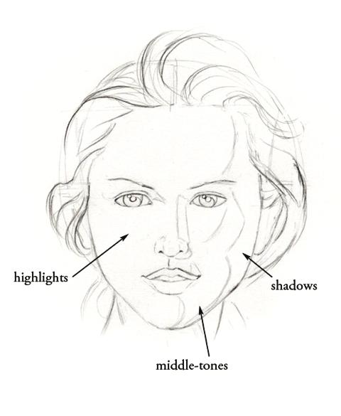 480x585 Light And Shadows 2 Like Sketch