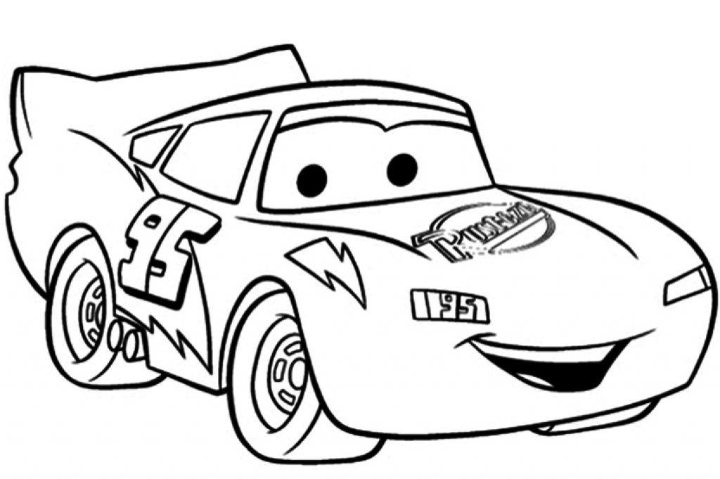 1024x682 Lightning Mcqueen Coloring Pictures