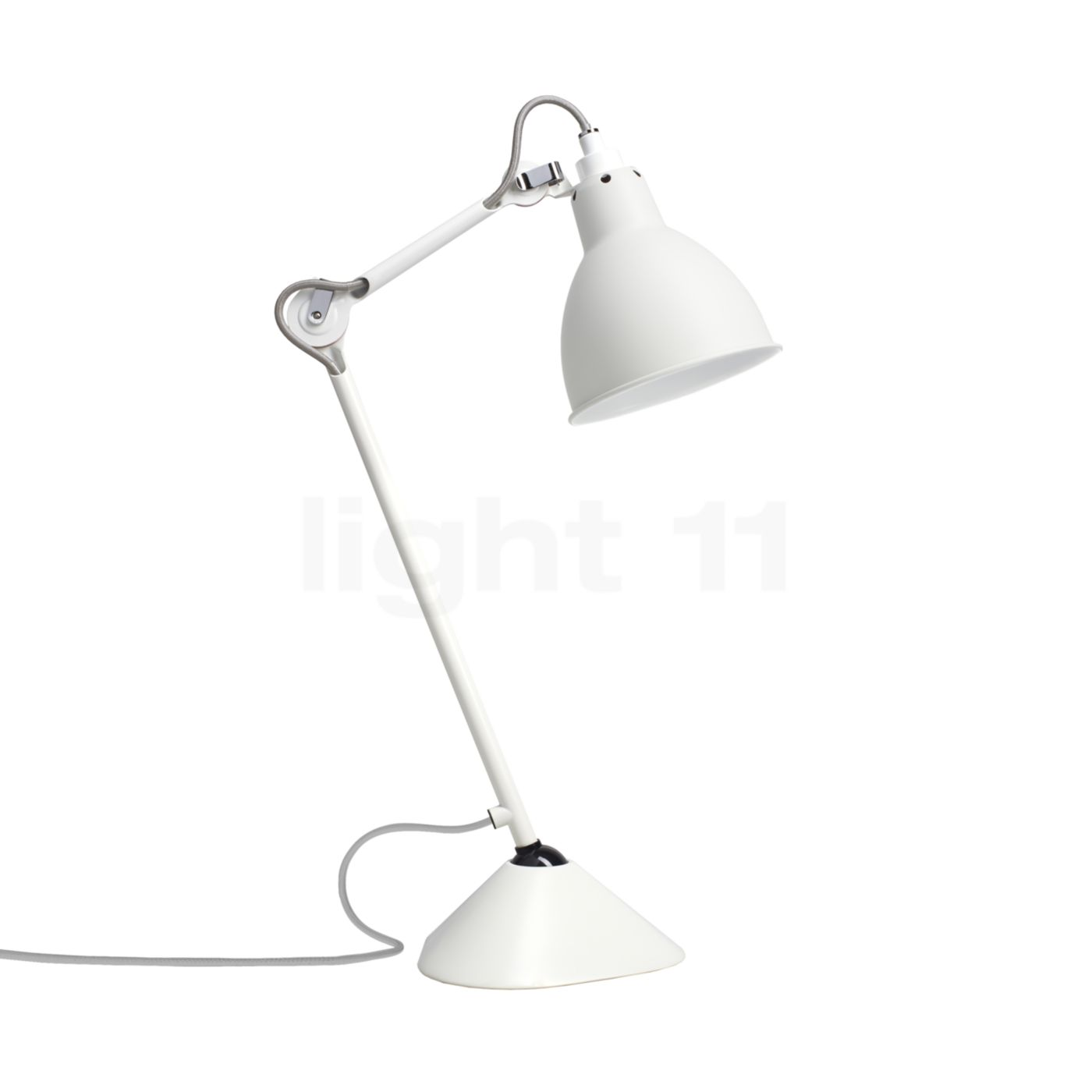 1400x1400 Dcw Lampe Gras No 205 Table Lamp White Reading Light