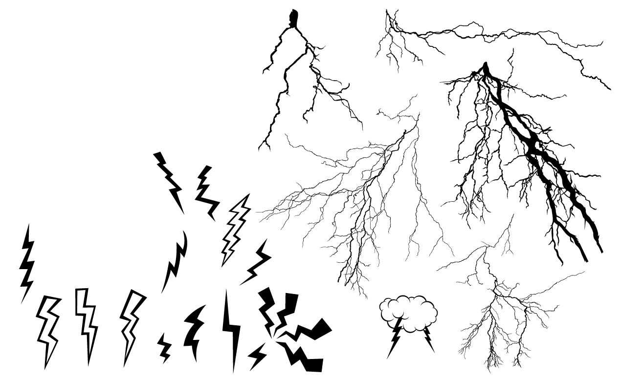 Lightning Bolt Drawing at GetDrawings.com | Free for